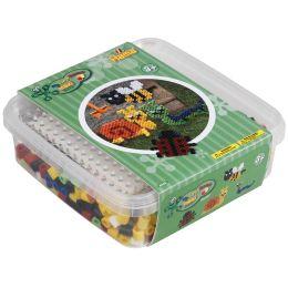 Hama Bügelperlen maxi + Stiftplatte Krabbeltiere, in Box