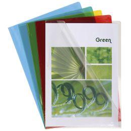 EXACOMPTA Sichthülle, DIN A4, PVC 0,13 mm, farbig sortiert