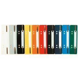 EXACOMPTA Heftstreifen, 35 x 150 mm, PP, orange