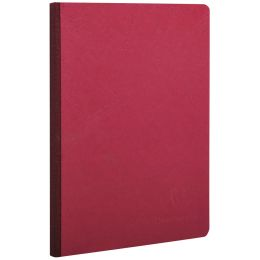 Clairefontaine Notizbuch AGE BAG, DIN A5, blanko, rot