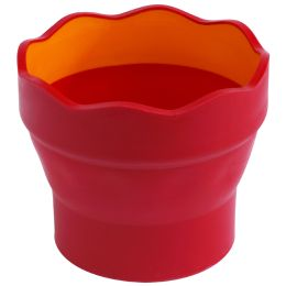 FABER-CASTELL Wasserbecher CLIC & GO, rot
