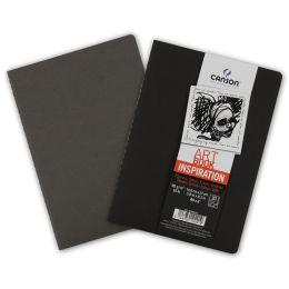 CANSON Skizzenheft Art Book Inspiration, A6, schwarz / grau