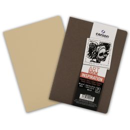 CANSON Skizzenheft Art Book Inspiration, A5, braun / beige