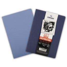 CANSON Skizzenheft Art Book Inspiration, A5, indigo / blau