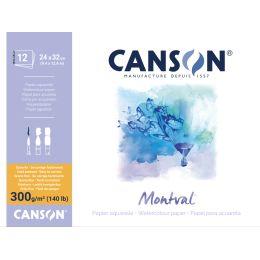 CANSON Zeichenpapierblock Montval, 240 x 320 mm, 300 g/qm