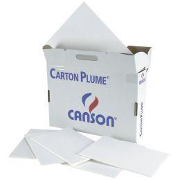 CANSON Leichtschaumplatte Carton Plume, DIN A4, weiß