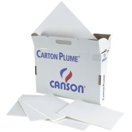 CANSON Leichtschaumplatte Carton Plume, DIN A3, weiß