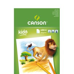 CANSON Malblock, DIN A4, 90 g/qm, 30 Blatt