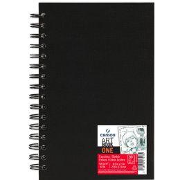 CANSON Skizzenbuch ARTBOOK ONE, DIN A3, 80 Blatt, schwarz