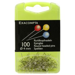EXACOMPTA Markierungsnadeln, Größe: 6 mm, farbig sortiert