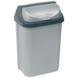 keeeper Abfallbehälter rasmus, 10 Liter, silber
