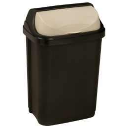 keeeper Abfallbehälter rasmus, 10 Liter, graphite