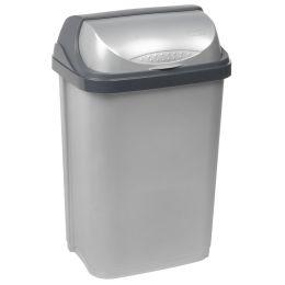 keeeper Abfallbehälter rasmus, 25 Liter, silber