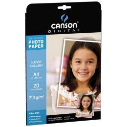 CANSON DIGITAL Fotopapier Performance, DIN A3, 210 g/qm