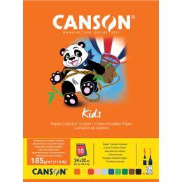 CANSON Tonpapierblock, 240 x 320 mm, 185 g/qm, 10 Blatt