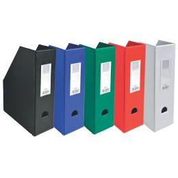 EXACOMPTA Stehsammler, DIN A4, Karton, 70 mm, schwarz