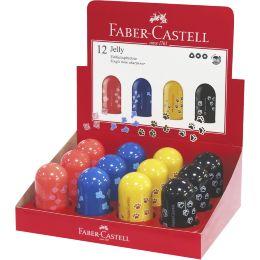 FABER-CASTELL Einfachspitzdose Jelly, im Display