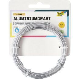 folia Aluminium-Basteldraht, 2 mm x 5 m, silber