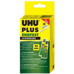 UHU 2-Komponenten-Klebstoff plus endfest, 163 g in Tube