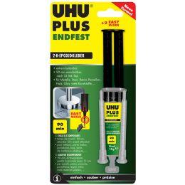 UHU 2-Komponenten-Klebstoff plus endfest,Doppelkammerspritze