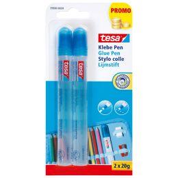 tesa Klebepen Glue Pen, lösemittelfrei, 2 x 20 g