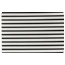 Ritzenhoff & Breker Tischset STRIPES, schwarze Streifen