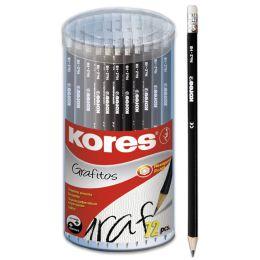 Kores Bleistift GRAFITOS, Härtegrad: HB, dreieckig
