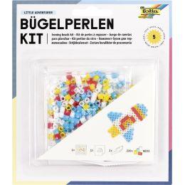 folia Bügelperlen Starter Set KIDS - Quadrat