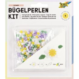 folia Bügelperlen Starter Set FLOWER - Blume