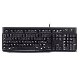 Logitech Tastatur K120, kabelgebunden, USB-Anschluss