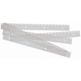 GBC Abheftstreifen FileStrips für Plastik- und Drahtbindung