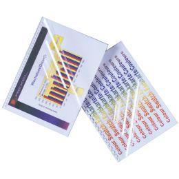 GBC Einbanddeckel HiClear, DIN A4, PVC, 0,24 mm, glasklar