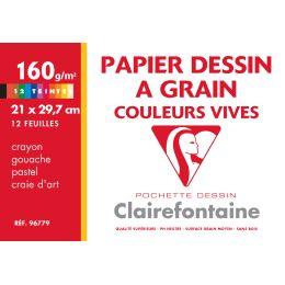 Clairefontaine Künstlerpapier à Grain, 240 x 320 mm