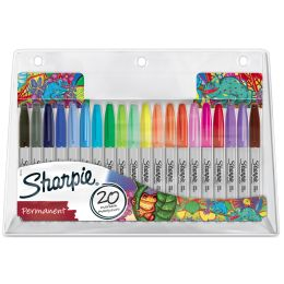 Sharpie Permanent-Marker FINE, 20er BIG PACK Chamäleon