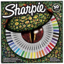 Sharpie Permanent-Marker FINE, 30er BIG PACK Auge