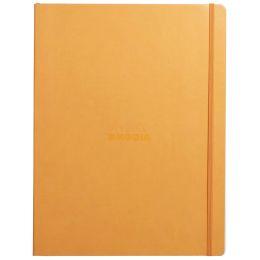 RHODIA Notizbuch RHODIARAMA, DIN A4+, liniert, orange