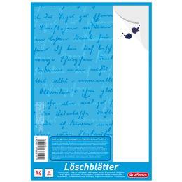 herlitz Löschpapierblock DIN A4, 80 g/qm, weiß