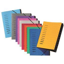 PAGNA Ordnungsmappe Sorting File, 12 Fächer, weiß