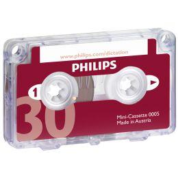 PHILIPS Mini Kassette LFH0005, 30 Minuten
