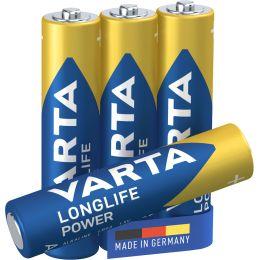 VARTA Alkaline Batterie LONGLIFE Power, Micro (AAA/LR3)