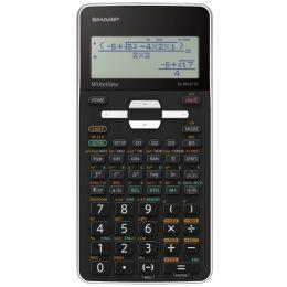 SHARP Schulrechner EL-W531TH, Batteriebetrieb, schwarz