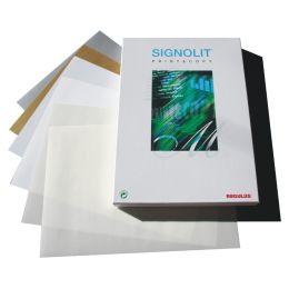 REGULUS Seltbstklebefolie SIGNOLIT SC, A4, transparent, matt