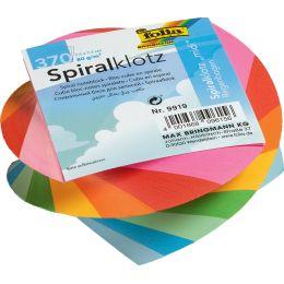 folia Spiral Zettelklotz MIDI, 75 x 75 mm, farbig sortiert