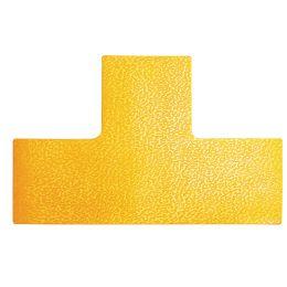 DURABLE Stellplatzmarkierung, T-Form, selbstklebend, gelb
