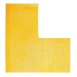 DURABLE Stellplatzmarkierung, L-Form, selbstklebend, gelb