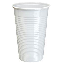PAPSTAR Kunststoff-Trinkbecher PS, 0,18 l, weiß, 50er