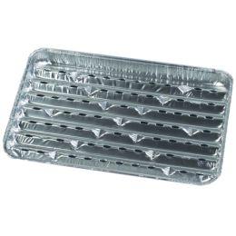 PAPSTAR Aluminium-Grillpfanne, eckig