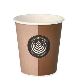 PAPSTAR Hartpapier-Kaffeebecher Coffee To Go, 0,2 l
