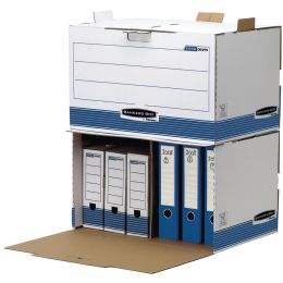 Fellowes BANKERS BOX SYSTEM Archiv-Container, blau