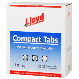 Lloyd Spülmaschinentabs, 2 x 1 kg Beutel = 112 Tabs